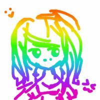 Rainbow sketch ~ Squishy by pastiique