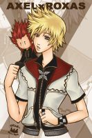 I'll Miss You +Axel x Roxas+ by starrywhitewall