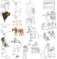 ER Tumblr Sketchdump by TamHorse