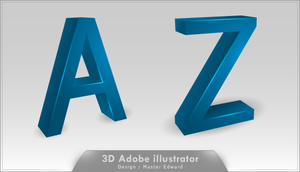 3D Text by MasterEdward