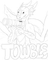 Twoble Badge - WIP Lines by RubyGirl14