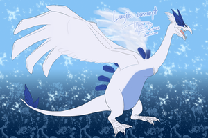 Lugia as Beipiaosaurus by Weirda208