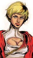Power Girl by mysteryming
