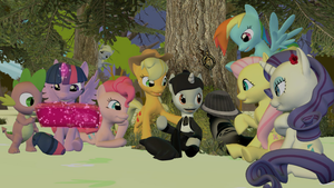 Further meeting in Ponyville. by Neros1990