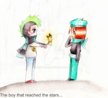 The boy that reached the stars by keytaro