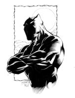 BLACK PANTHER by jerkmonger