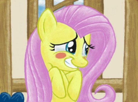 Because I'm Fluttershy by RavenousDrake
