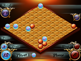 Bubbles Wars - game screen by VVVp