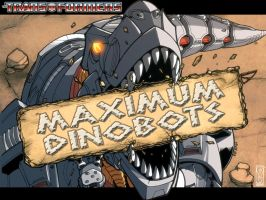 Maximum Dinobots Wallpaper by Transformers-Mosaic