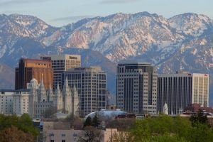 Salt Lake City Skyline by dsiegel