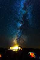 Death Valley - Milky way by Cyberfoxbat