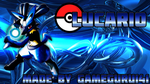Lucario Wallpaper by GameGuru141