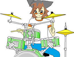 Chris practicing by Sonadowlover12345678