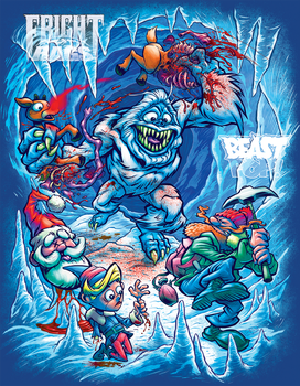 ABOMINABLE SNOW MONSTER MASSACRE! by pop-monkey