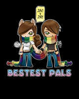 Bestest Pals - Color 1 by zacpfaff