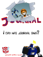 Wannabe TFA Journal Skin by Zarak342