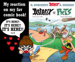 My reaction on my fav comic book: Asterix by SpriteGirl