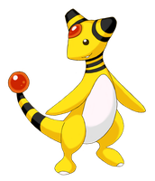 PKMN - Ampharos by Resonance21