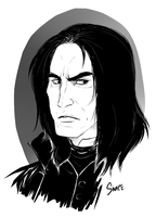 Snape whee by peachiekeenie