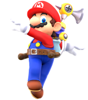 First Time Rendering Mario! by Nibroc-Rock