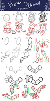 How To Draw A Chicken by Marie-Mike