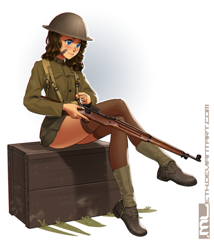 WW1 Brooke by MLeth