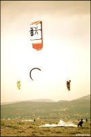 kite surfing.. by acidropstudio