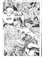 FANTASTIC FORCE 13 pg.10 pencils by PinoRinaldi