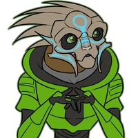 Green Turian by uglynoodles