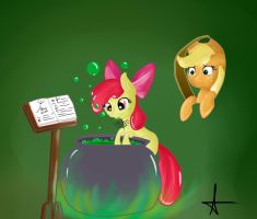 C: Apple Bloom Wishes by Bally-Vhern