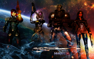 Mass Effect 3 Squad Wallpaper by suicidebyinsecticide