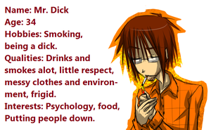 Mr.Dick Bio by Krooked-Glasses