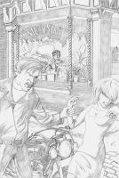 Little Shop of Horrors Pencils by CrazyChucky