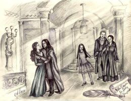 Snape's Ministry marriage by Allada