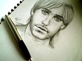 Jared Leto . sketch by ChocoWay