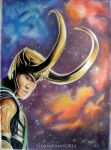 Loki and the Space by NerwenNenharma