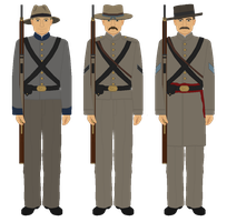 The Palmetto Sharpshooters Regiment - 1862 by JoeyLock