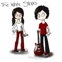 The White Stripes by moonshoespotter123