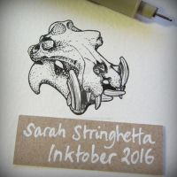 Inktober 2016 day 19 by saraquarelle