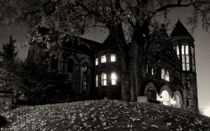 Stewart Hall Night by Bawwomick