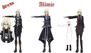 D.Gray-man FC: Alimie reference by Shalissey-N