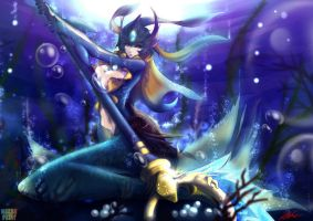 League_of_Legends - Nami by DeathKLovC