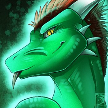 Icon Comish - Green Snark by TwilightSaint