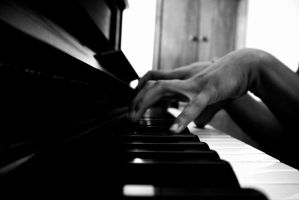 The Piano Man by XXha-loXx