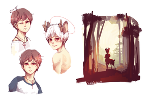 exp: lovestruck deer by nanomori