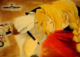 Edward Elric by AngieElric666