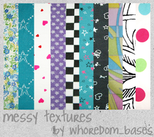 Colorful Texture Set by whoredom-resources