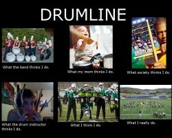 What the Drumline Does by MissWeeble