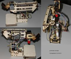 printrbot simple 3D Printer by fractalfiend