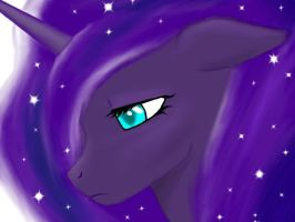 Luna's Gaze by blackrose88